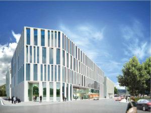 Neubau Bürogebäude MK7, Berlin
