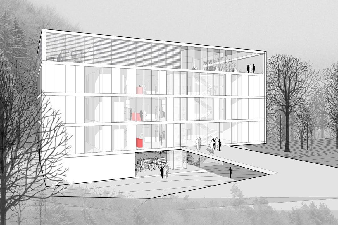 Neubau Laborgebäude