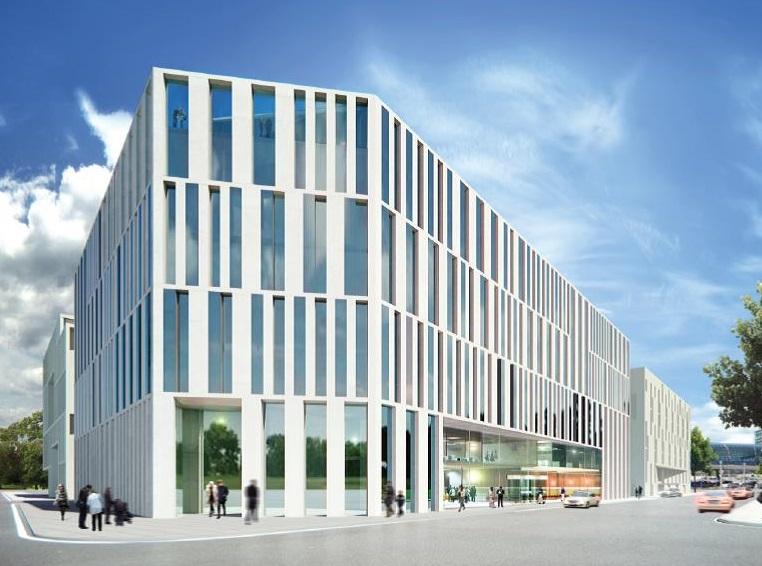 Bürogebäude am Hauptbahnhof