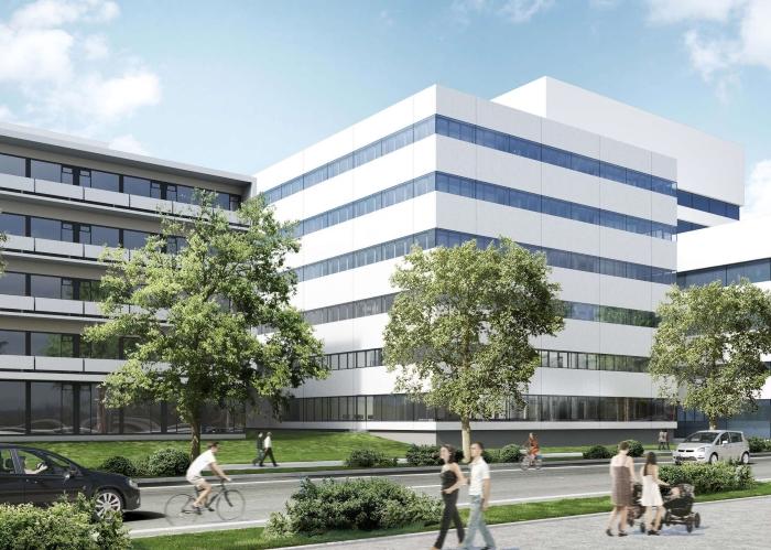 Laborgebäude Basel Schweiz