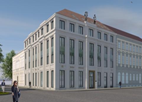 Neubau Bankgebäude Potsdam