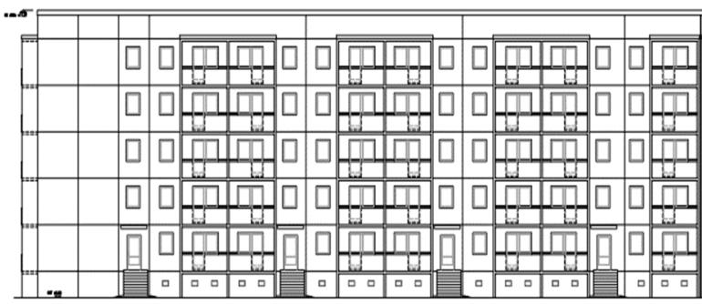 Wohngebaeude Gaussstrasse 51-58 Potsdam