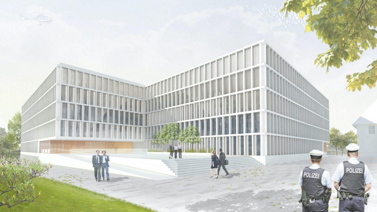Neubau Bundespolizei- präsidium Potsdam